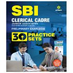 Book for SBI Clerical Cadre exam with 30+ practice sets