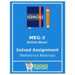 MEG 3: Ignou MA English 1st year solved assignments
