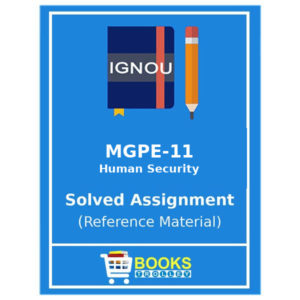 Ignou MA Politica Science Assignments