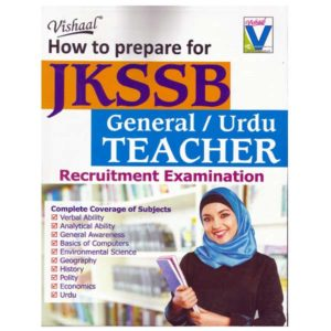 Book to prepare for JKSSB general / urdu teacher recruitment exam
