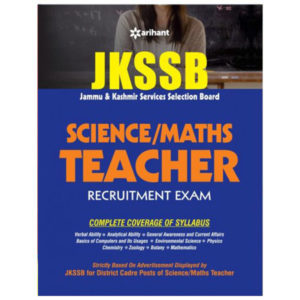 books for jkssb teacher (Maths / Science) examination