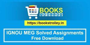 Ignou meg solved assignments free download