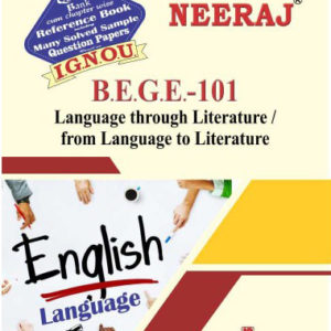 IGNOU BEGE 101 Book (From Language to Literature ignou help book)