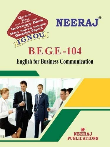 IGNOU BEGE 104 Book