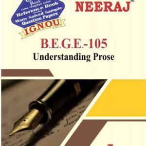 IGNOU BEGE 105 Book (Understanding Prose)