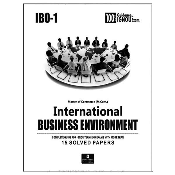 IGNOU IBO 1 Book