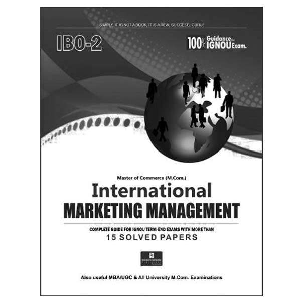 IGNOU IBO 2 Book (International Marketing Management)