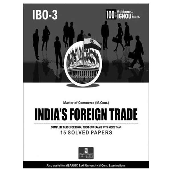 IGNOU IBO 3 Book (India's Foreign Trade)