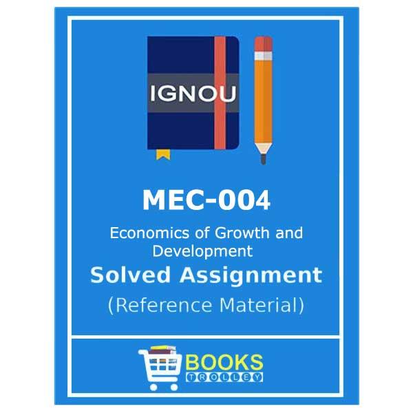 ignou-mec-4-solved-assignment