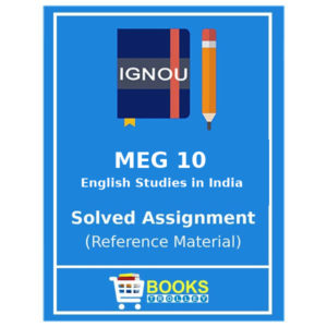 MEG 10 IGNOU Solved Assignment