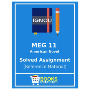 MEG 11 IGNOU Solved Assignment