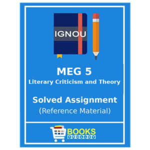 MEG 5 IGNOU Solved Assignment