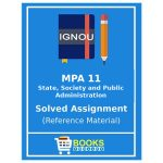 Ignou MA Public Administration Assignments