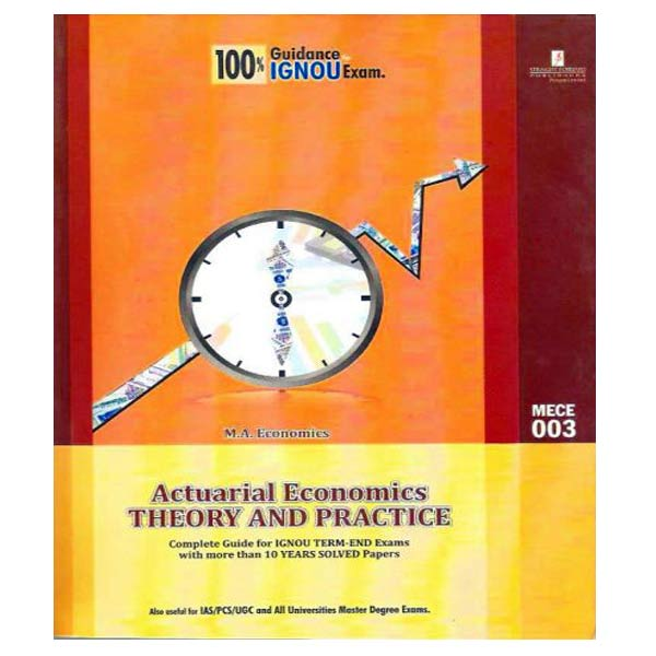 IGNOU MECE 3 Book (Actuarial Economics: Theory and Practice)