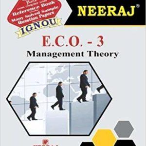 IGNOU ECO 3 Book in English Medium