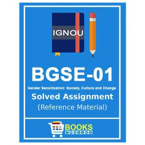 IGNOU BGSE 1 Solved Assignment