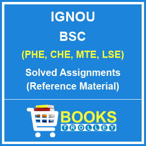 IGNOU BSC Solved Assignments