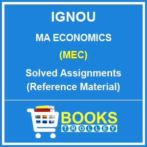 IGNOU MA Economics Solved Assignments 2018-19