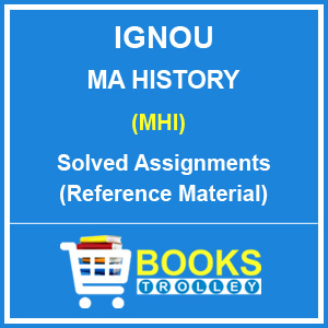 IGNOU MA History Solved Assignments 2018-19