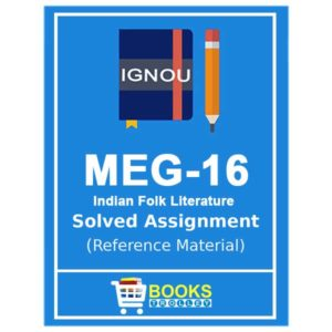 IGNOU MEG 16 Solved Assignment