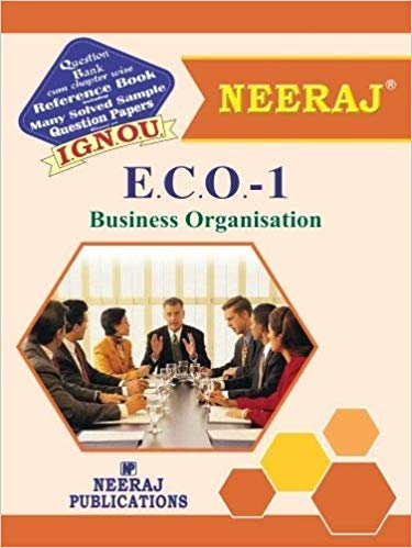 ECO 1 Book of IGNOU B.Com Course