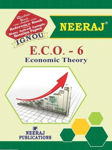 IGNOU ECO 6 book in English Medium