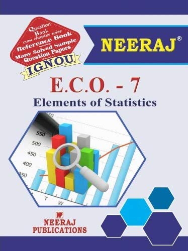 IGNOU ECO 7 Book in English Medium